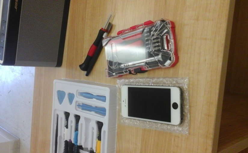 Iphone5 screen replacement for $90